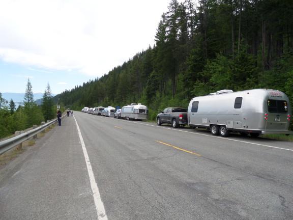 Caravan to Eureka, Montana