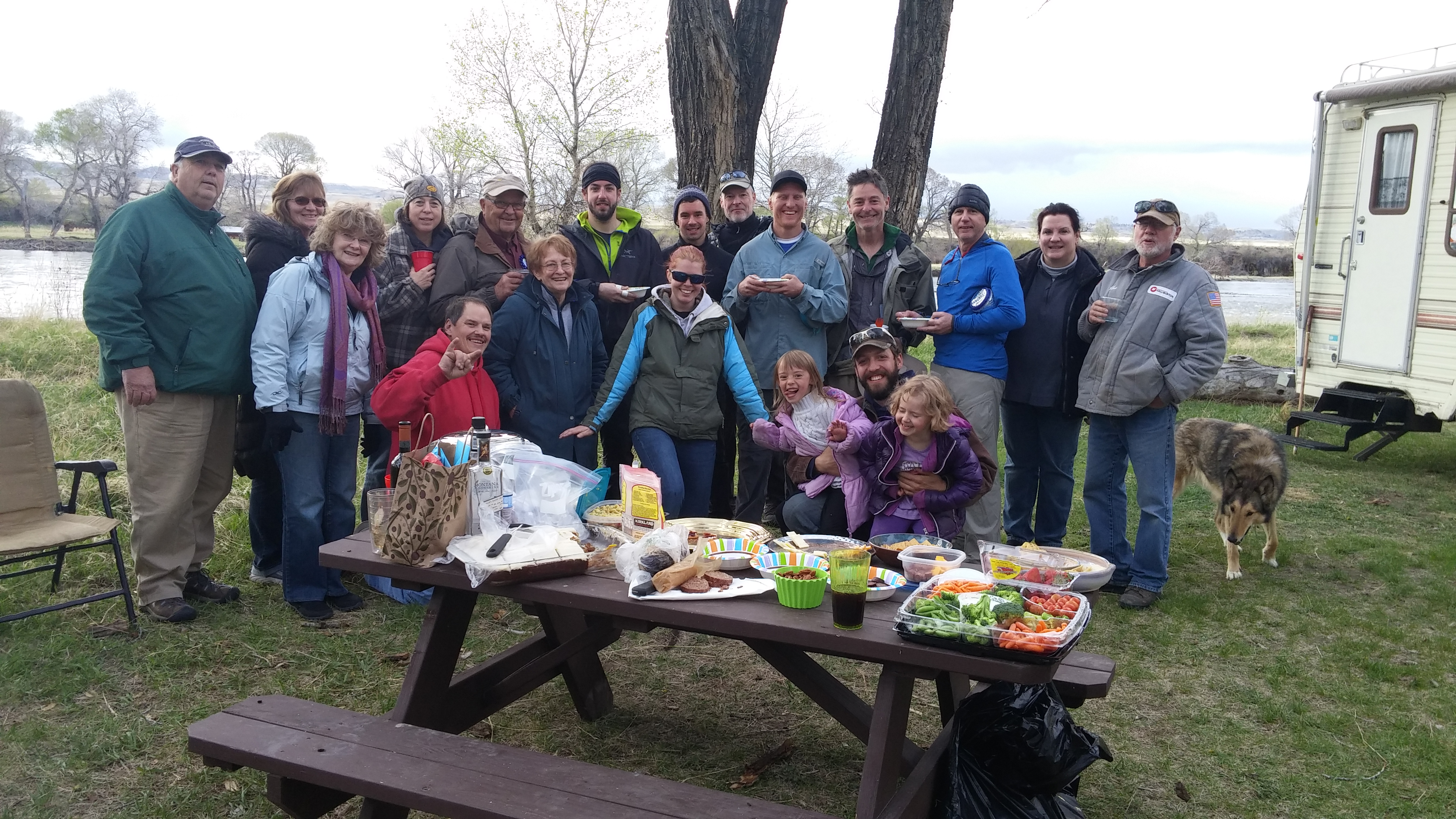 The Montana Unit joined by friends and members of Backpacking Light from Bozeman.