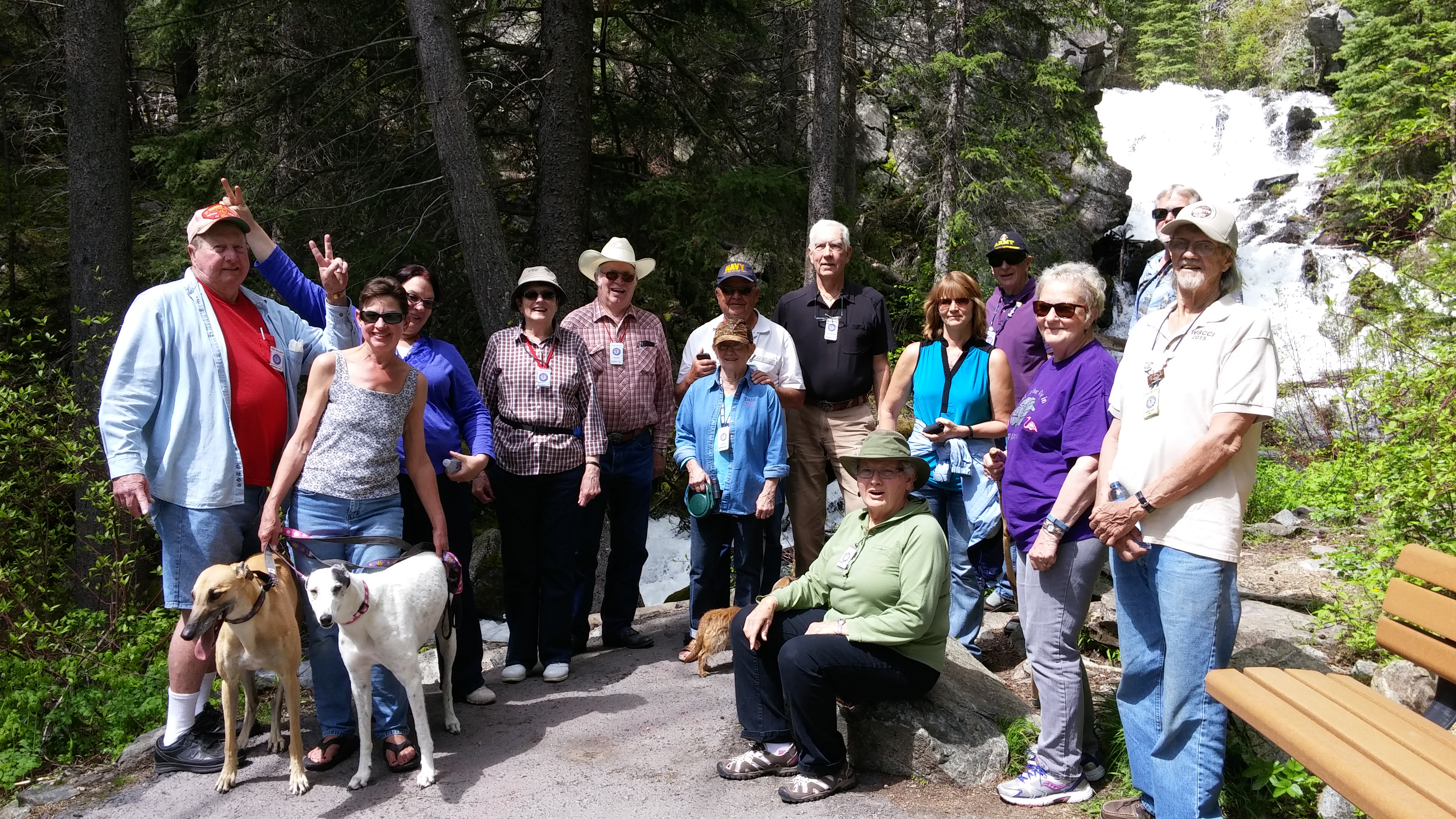 Montana Unit and friends at Lost Creek State Park